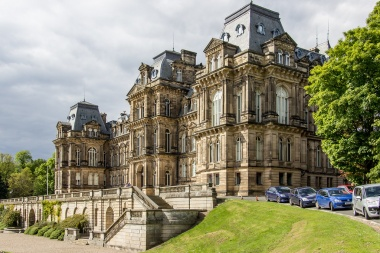The Bowes Museum: a grand building built in a French style