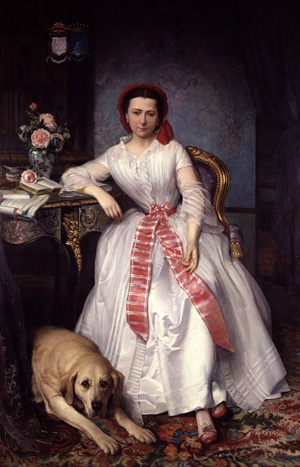 Joséphine Bowes: A portrait of a woman in the 19th century.