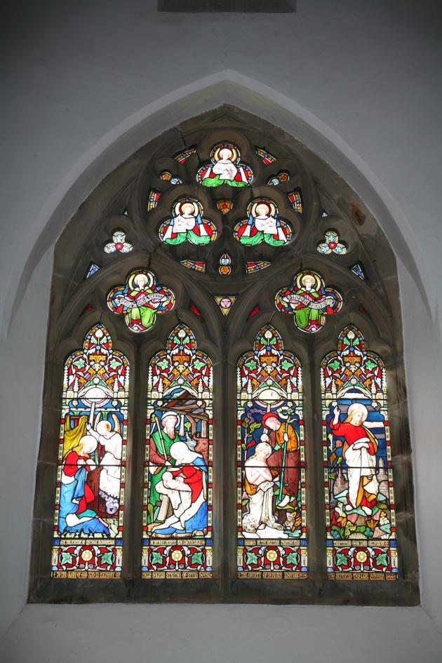 Whorlton - West Window